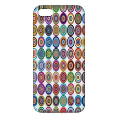 Decorative Ornamental Concentric Iphone 5s/ Se Premium Hardshell Case by Celenk