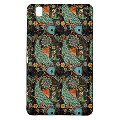 Pattern Background Fish Wallpaper Samsung Galaxy Tab Pro 8 4 Hardshell Case by Celenk