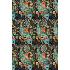 Pattern Background Fish Wallpaper 5 5  X 8 5  Notebooks by Celenk