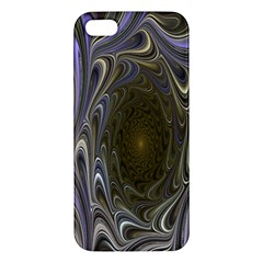 Fractal Waves Whirls Modern Iphone 5s/ Se Premium Hardshell Case by Celenk