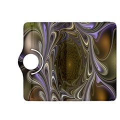 Fractal Waves Whirls Modern Kindle Fire Hdx 8 9  Flip 360 Case by Celenk
