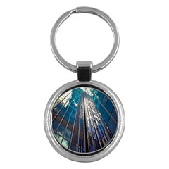 Architecture Skyscraper Key Chains (round)  by Celenk