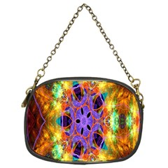 Kaleidoscope Pattern Ornament Chain Purses (two Sides)  by Celenk