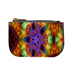 Kaleidoscope Pattern Ornament Mini Coin Purses by Celenk