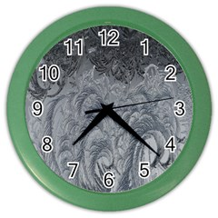 Abstract Art Decoration Design Color Wall Clocks by Celenk