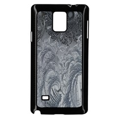 Abstract Art Decoration Design Samsung Galaxy Note 4 Case (black) by Celenk