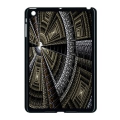 Fractal Circle Circular Geometry Apple Ipad Mini Case (black) by Celenk