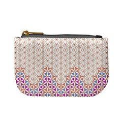 Flower Of Life Pattern 1 Mini Coin Purses by Cveti