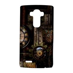 Steampunk, Wonderful Clockwork With Gears Lg G4 Hardshell Case by FantasyWorld7