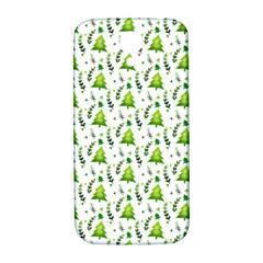Watercolor Christmas Tree Samsung Galaxy S4 I9500/i9505  Hardshell Back Case by patternstudio