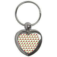 Watercolor Ornaments Key Chains (heart)  by patternstudio