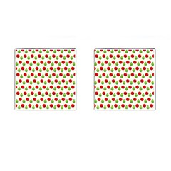 Watercolor Ornaments Cufflinks (square) by patternstudio