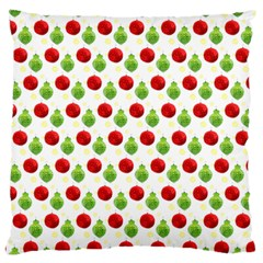 Watercolor Ornaments Large Cushion Case (two Sides) by patternstudio