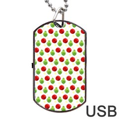 Watercolor Ornaments Dog Tag Usb Flash (one Side) by patternstudio