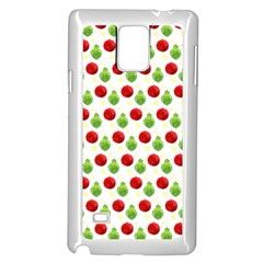 Watercolor Ornaments Samsung Galaxy Note 4 Case (white) by patternstudio