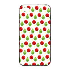 Watercolor Ornaments Apple Iphone 4/4s Seamless Case (black) by patternstudio