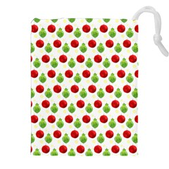 Watercolor Ornaments Drawstring Pouches (xxl) by patternstudio