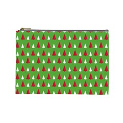 Christmas Tree Cosmetic Bag (large)  by patternstudio