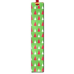 Christmas Tree Large Book Marks by patternstudio