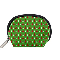 Christmas Tree Accessory Pouches (small)  by patternstudio