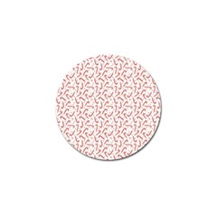 Candy Cane Golf Ball Marker (4 Pack) by patternstudio