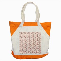 Candy Cane Accent Tote Bag by patternstudio