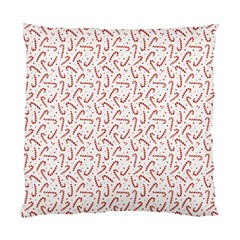 Candy Cane Standard Cushion Case (one Side) by patternstudio