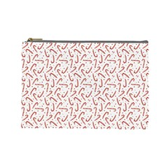 Candy Cane Cosmetic Bag (large)  by patternstudio