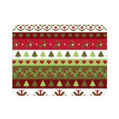 Christmas Spirit Pattern Double Sided Flano Blanket (mini)  by patternstudio