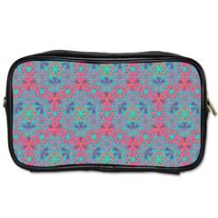 Bereket Pink Blue Toiletries Bags 2 Side by Cveti