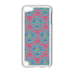 Bereket Pink Blue Apple Ipod Touch 5 Case (white) by Cveti