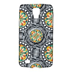 Beveled Geometric Pattern Galaxy S4 Active by linceazul
