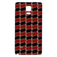 Leaves Red Black Galaxy Note 4 Back Case by Cveti