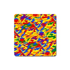Homouflage Gay Stealth Camouflage Square Magnet by PodArtist