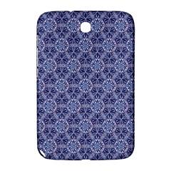 Crystals Pattern Blue Samsung Galaxy Note 8 0 N5100 Hardshell Case  by Cveti