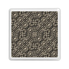 Animal Print Camo Pattern Memory Card Reader (square)  by dflcprints