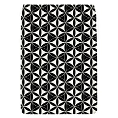 Flower Of Life Pattern Black White Flap Covers (s)  by Cveti