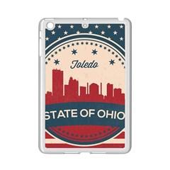 Retro Toledo Skyline Ipad Mini 2 Enamel Coated Cases by allthingseveryday