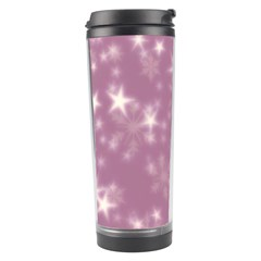 Blurry Stars Lilac Travel Tumbler by MoreColorsinLife