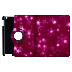 Blurry Stars Pink Apple Ipad 2 Flip 360 Case by MoreColorsinLife