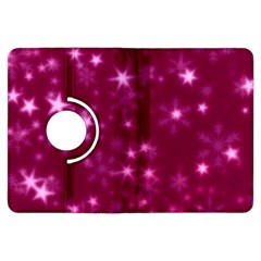 Blurry Stars Pink Kindle Fire Hdx Flip 360 Case by MoreColorsinLife