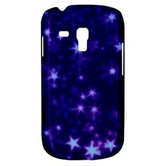 Blurry Stars Blue Galaxy S3 Mini by MoreColorsinLife