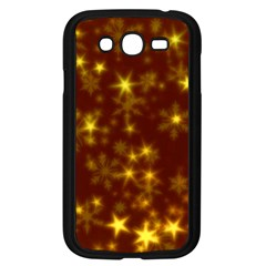 Blurry Stars Golden Samsung Galaxy Grand Duos I9082 Case (black) by MoreColorsinLife