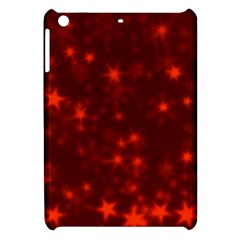 Blurry Stars Red Apple Ipad Mini Hardshell Case by MoreColorsinLife