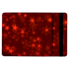 Blurry Stars Red Ipad Air Flip by MoreColorsinLife
