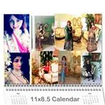 calendar 2018 - Wall Calendar 11  x 8.5  (12-Months)