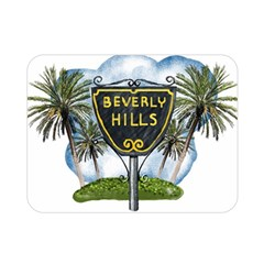 Beverly Hills Double Sided Flano Blanket (mini)  by allthingseveryday