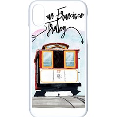 San Francisco Trolley California Bear Apple Iphone X Seamless Case (white) by allthingseveryday