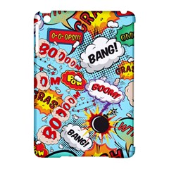 Comic Pattern Apple Ipad Mini Hardshell Case (compatible With Smart Cover) by allthingseveryday