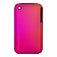 Pink Orange Yellow Ombre  Iphone 3s/3gs by SimplyColor